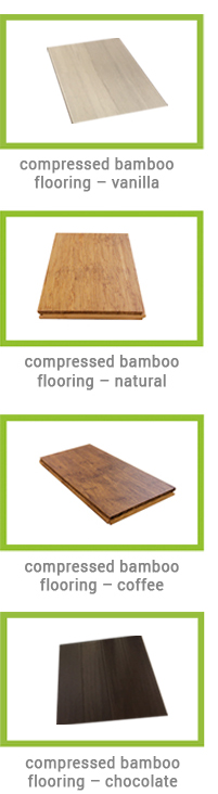 Plantation Bamboo Flooring Samples