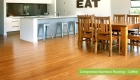 Plantation Bamboo Flooring Products New Zealand - Compressed bamboo flooring shown in coffee colour-way installed in kitchen and dinning room