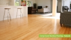 Plantation Bamboo Flooring Products New Zealand - Compressed bamboo flooring shown in natural colour-way installed in living space