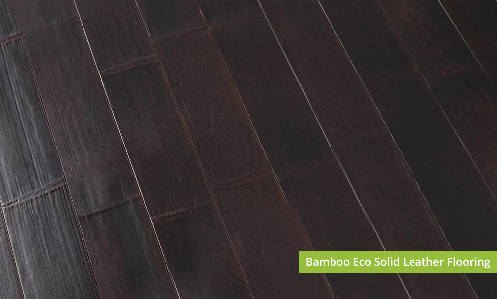 Eco solid leather bamboo flooring plantation bamboo for Eco bamboo flooring