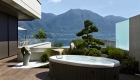 Plantation Bamboo X-treme decking with spa pool