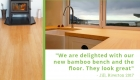 Plantation Bamboo flooring and benchtop