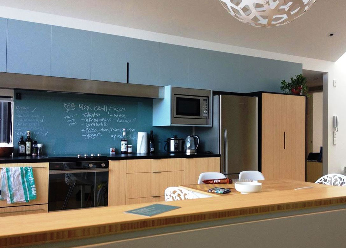 Bamboo kitchen joinery in New Zealand