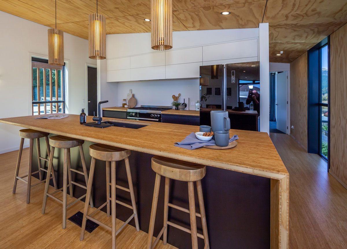 Bamboo kitchen renovation nz